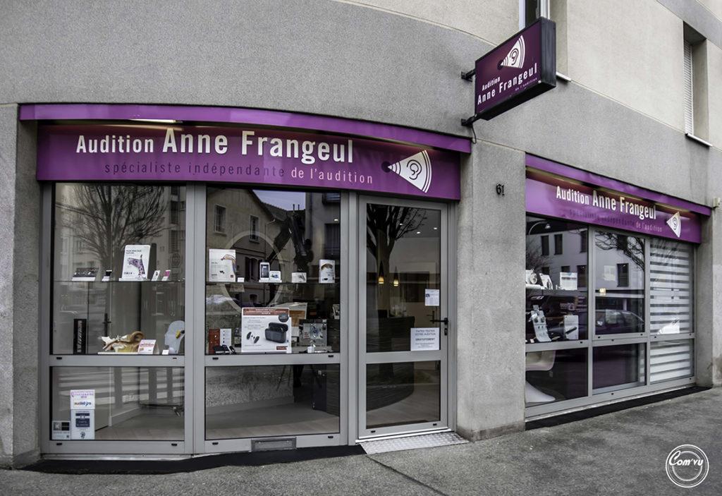 Photo Audition Anne Frangeul Vitrine