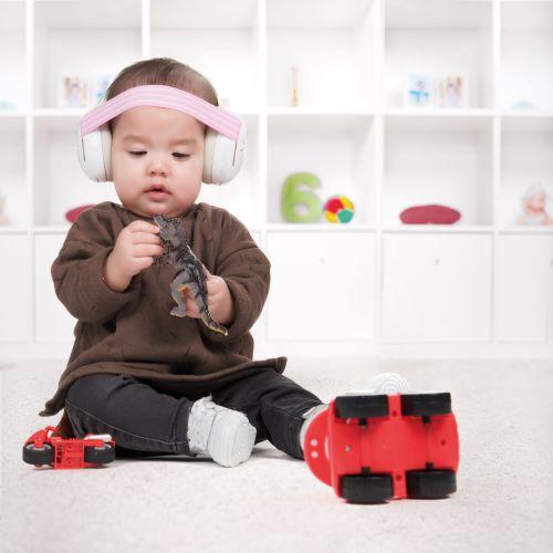 Casque anti-bruit bébés Rennes Alpine Muffy Baby
